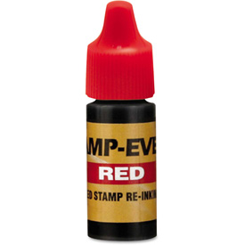 Buy U. S. Stamp & Sign Refill Ink for Clik! & Universal Stamps, 7ml-Bottle, Red