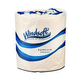 Single Roll Bath One-Ply Bath Tissue, 1000 Sheets/Roll, 96 Rolls/Case - WNS2210