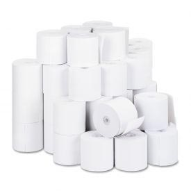 "Cash Register Paper Rolls, 2-3/4"" X 190 Ft., 50 Rolls/Carton"