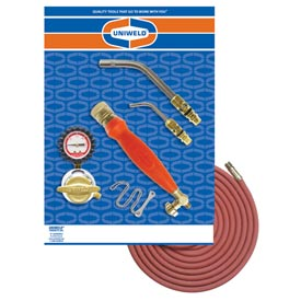 Uniweld 89603 - Air/Acetylene Twister® Kit (Quick Connect) - RMC Regulator & TH6 Handle