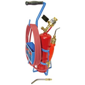 Uniweld 89605 - Air/Acetylene Twister® Kit (Quick Connect) - RMC Regulator (w/ Stand & Tank)