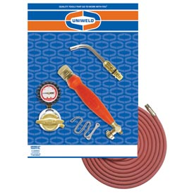 Uniweld 89622 - Air/Acetylene Twister® Kit (Quick Connect) - RMC Regulator & TH6 Handle