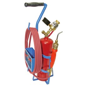 Uniweld 89623 - Air/Acetylene Twister® Kit (Quick Connect) - RMC Regulator (w/ Stand & Tank)