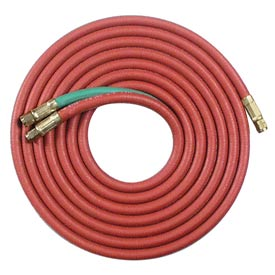 "12.5' Oxyacetylene Twin Hose - 3/8""(A) Connection - Pkg Qty 2"