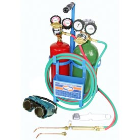 Uniweld® K23C-T - Patriot® Outfit for Welding and Brazing (w/ Stand & Tank)