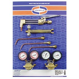 Uniweld® KL71-4 - Patriot® Outfit for Cutting, Welding and Brazing
