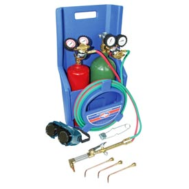 Uniweld® KL71-4P-T - Patriot® Outfit for Cutting, Welding and Brazing (w/ Stand & Tank)