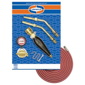 Uniweld KTAQ23MC - Air/Acetylene Twister® 2 Kit (Quick Connect) - RMC Regulator & TH6 Handle