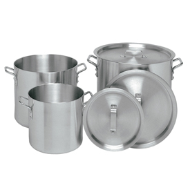 Heavy 32 Quart Aluminum Stock Pot