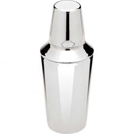 Update International Bar Shaker, 16 Oz., Stainless Steel, BSH-3PM Package Count 72 by