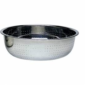 "Update International Colander, 11 Qt., 11-7/8""Dia. x 3 1/2""H, CCOL-11S Package Count 24 by"