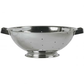 """Click here to buy Update International Colander, 14 Qt., 15-5/8""""Dia. x 5""""H, COL-140 Package Count 12."""