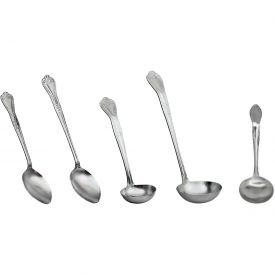 """Click here to buy Update International Crown Fork, 13""""L, Stainless Steel, CR-13FK Package Count 120."""