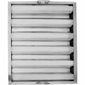 "Update International Hood Filter 25""L x 20""W, Stainless Steel, HF-2520 Package... by"