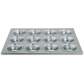 12 Capacity Muffin/Cup Cake Pan Package Count 12 by