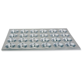 Click here to buy 24 Capacity Muffin/Cup Cake Pan. 6 pans/Cs. Package Count 12.