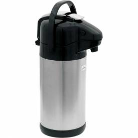 Update International Airpot Sup-R-AirW/Lever Top, 2.5L., Black, NVSL-25BK Package Count 6 by