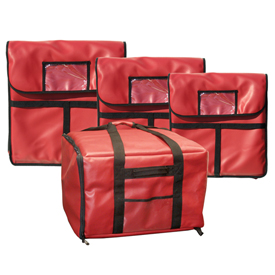 "Update Int. Insulated Pizza Delivery Bag 24"" Package Count 6 by"