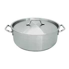 30 Quart Stainless Steel Brazier