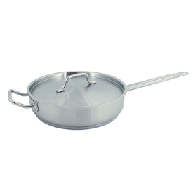 5 Quart Stainless Steel Sauté Pan - Pkg Qty 6