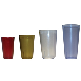 Update Int. 16 Ounce Amber Tumbler by