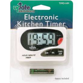 Update International Hour/Minute Digital Timer W/Clip & Magnet, 24/Cs, TIMD-HM Package Count 96 by