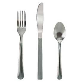 "Update International Windsor Serving Spoon, 8""L x 2""W, 1-4/5mm, WH-59 Package... by"
