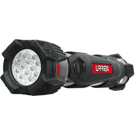 Urrea Heavy Duty LED Flashlight, 7L2C, 30 Lumens, 12 LEDs