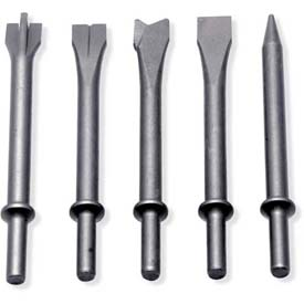 Urrea Assorted Hammer Chisel Tips UP711K5, 5 Pieces by
