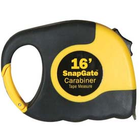 Ultra Hardware Snap Gate™ Carabiner Tape Measure - 16' - Pkg Qty 6