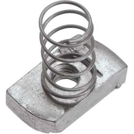 "Unistrut 1-5/8"" Channel Nut P1007egs, Electro-Galvanized, 5/16-18 - Pkg Qty 100"