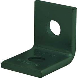 Unistrut Two Hole 90° Fitting P1026gr, 2 Hole, Perma-Green® Iii - Pkg Qty 50