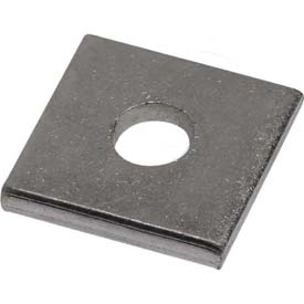 "Unistrut Square Washer P1062eg, Electro-Galvanized, 5/16"" Package Count 100 by"