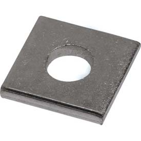"Unistrut 1-5/8"" Square Washer P1064eg, 1 Hole, Electro-Galvanized, 1/2"" Package Count 100 by"