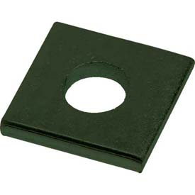"Unistrut 1-5/8"" Square Washer P1064gr, 1 Hole, Perma-Green® Iii, 1/2"" - Pkg Qty 100"