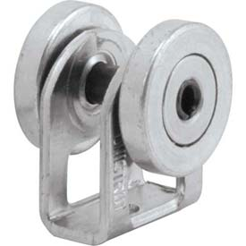 "Unistrut 1-5/8"" General Fitting P2749eg, 2 Wheel Trolley, Electro-Galvanized - Pkg Qty 25"