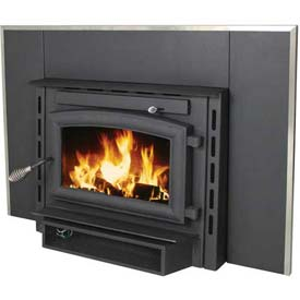 US Stove Plate Steel Wood Stove Heater Insert, 2200IE, 69000 BTU by