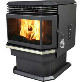 US Stove Bay Front Pellet Stove Heater 5660 48000 BTU by