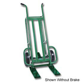 Valley Craft® Steel Deep Frame Mini Pallet Truck F84944A8 - Brake - Solid Wheels