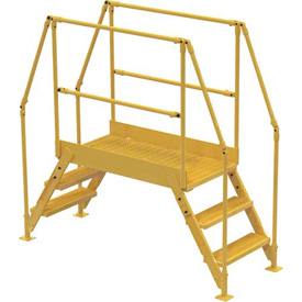 "3 Step Cross-Over Ladder - 78-1/2""L"