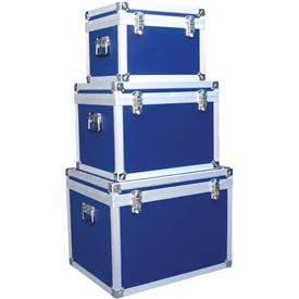 Vestil PVCP-A PVC Laminated Plywood Storage Cases, Set Of Three Sizes