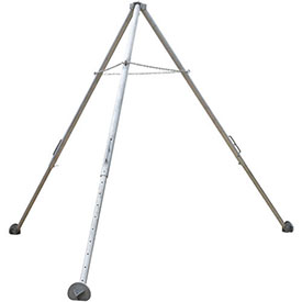 Tripod Hoist Stand - Aluminum - Adjustable Height Legs