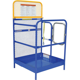 "Work Platform - Single Side Door Entry - 36""W x 38-2/3""L"