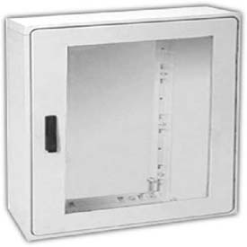 "Vynckier PSB2020A POLYSAFE 20"" X 20"" Non-Metallic Enclosure, 1 Bonded Window Door"