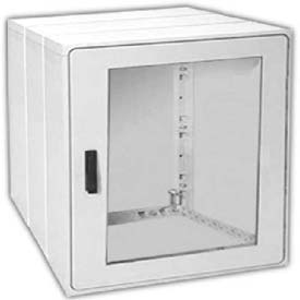 "Vynckier PSB4040E2A POLYSAFE 40"" X 40"" Non-Metallic Enclosure, 1 Extension, 2 Bonded Window Door"