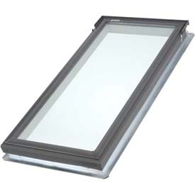 "VELUX Fixed Deck Mount Skylight FSC060005, Temp. Glass/Wood Interior, 21""W X 45-3/4""H"