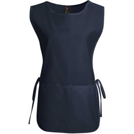 Chef Designs Cobbler Apron, Navy, Polyester/Cotton, L by