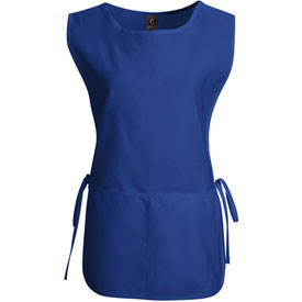 Chef Designs Cobbler Apron, Royal Blue, Polyester/Cotton, M by
