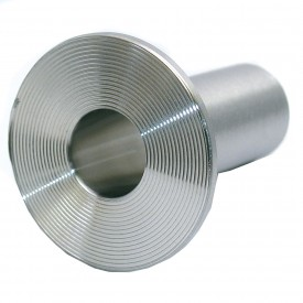 MaxPure TE14WA6L.75-PM  BPE Series 3/4 Stub End, T316L Stainless, Weld Connection