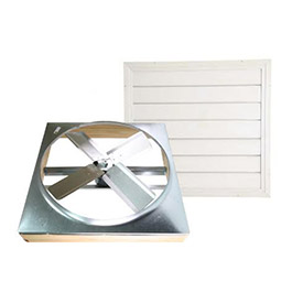 "Cool Attic® 30"" Direct Drive Whole House Fan With Shutter"